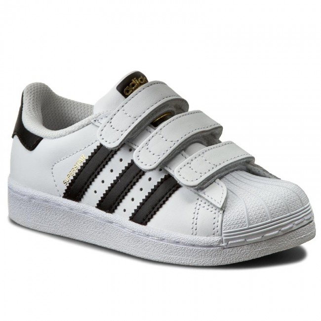 Topánky adidas - Superstar Foundation CF C B26070 Ftwwht Cblack Ftwwht e0ca1af839a