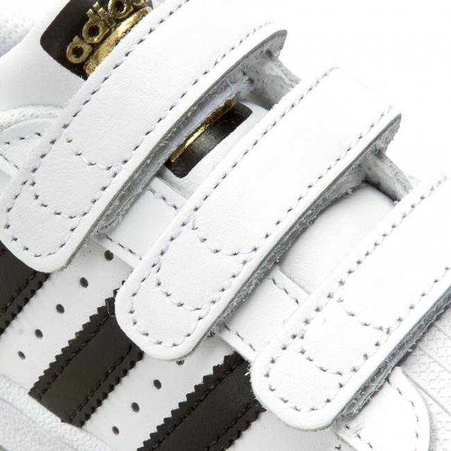 Topánky adidas - Superstar Foundation CF C B26070 Ftwwht Cblack Ftwwht 2f5d5a9807