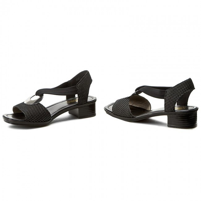 5bf657bf379f Sandále RIEKER - 62662-02 Black 1 - Sandále na každodenné nosenie ...