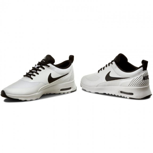 Topánky NIKE - Wmns Nike Air Max Thea 599409 102 White Black White ... f32c20eedd7