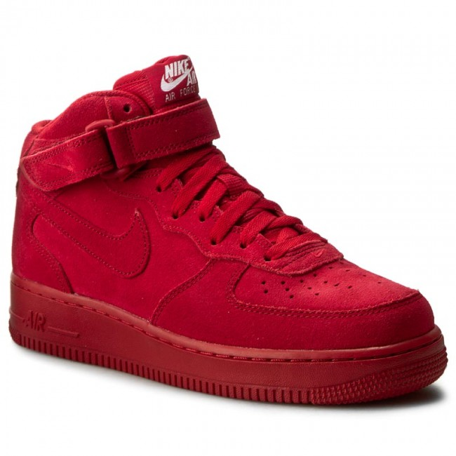 Topánky NIKE - Air Force 1 Mid  07 315123 609 Gym Red Gym Red White ... d43567c7157
