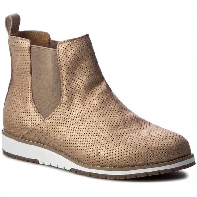 Kotníková obuv s elastickým prvkom EMU AUSTRALIA - Taria W11069 Rose Gold 50c4467b933