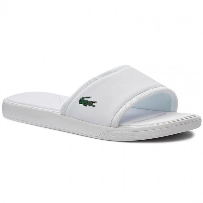 Šľapky LACOSTE - L.30 Slide Sport Spm 7-31SPM2169001 White - Šľapky ... 1d3e238442c