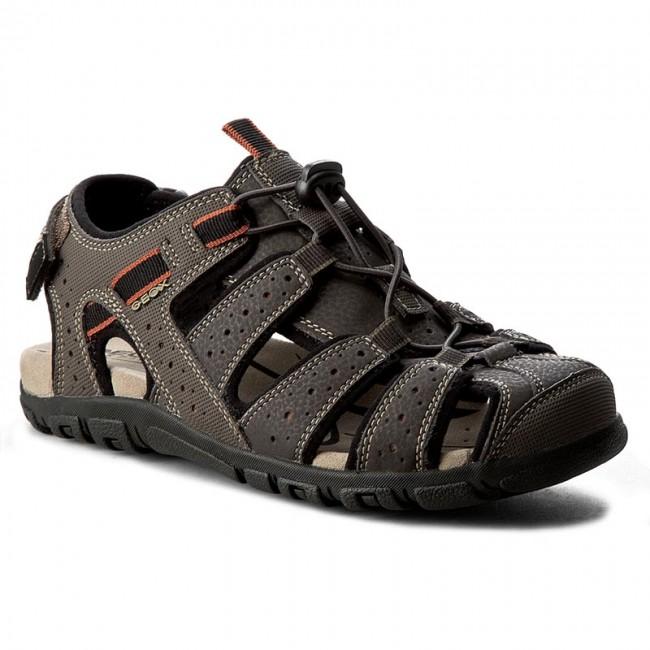 7d5dcae3f2e4 Sandále GEOX - U S.Strada B U6224B 00050 C6024 C.Kawowy - Sandále ...