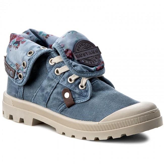 Outdoorová obuv MUSTANG - 38C0074 Blau - Outdoorové topánky - Čižmy ... 1a1c96d036c