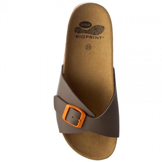 5a4435b3f401 Šľapky SCHOLL - Spikey Ss4 F26564 1483 350 Brown Orange - Šľapky každodenné  - Šľapky - Šľapky a sandále - Dámske - www.eobuv.sk