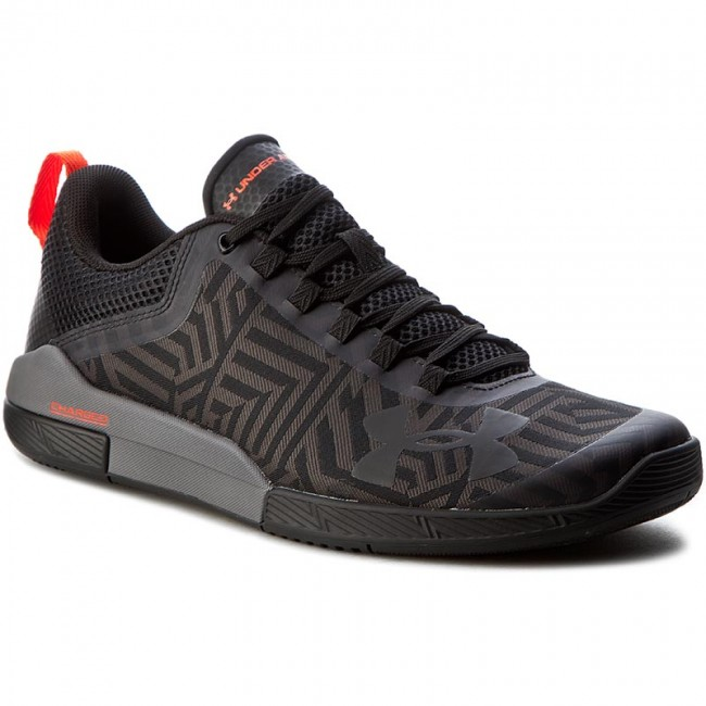 Topánky UNDER ARMOUR - Ua Charged Legend Tr Stripe 1285702-001 Blk Gph  516df92537a