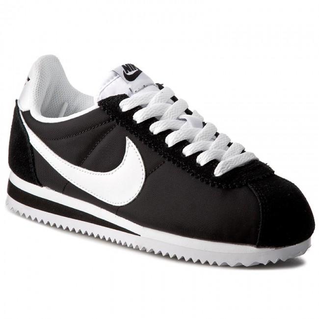 Topánky NIKE - Classic Cortez Nylon 749864 011 Black White ... dc11da81a95