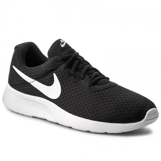 Topánky NIKE - Tanjun 812654 011 Black White - Sneakersy ... 2125253add3