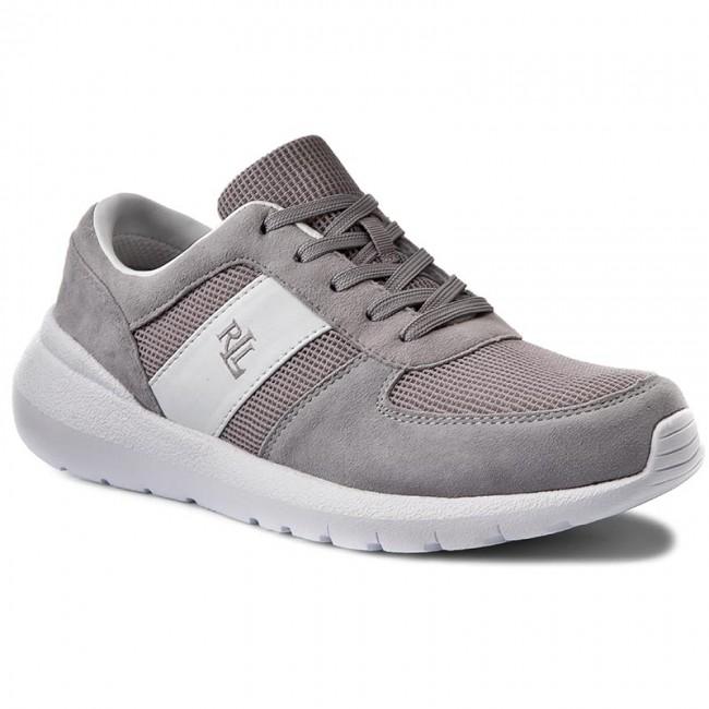 Sneakersy LAUREN RALPH LAUREN - Jay N85 XZ4XJ XY4XJ XW4SM Chalk Grey White e900b8585e2
