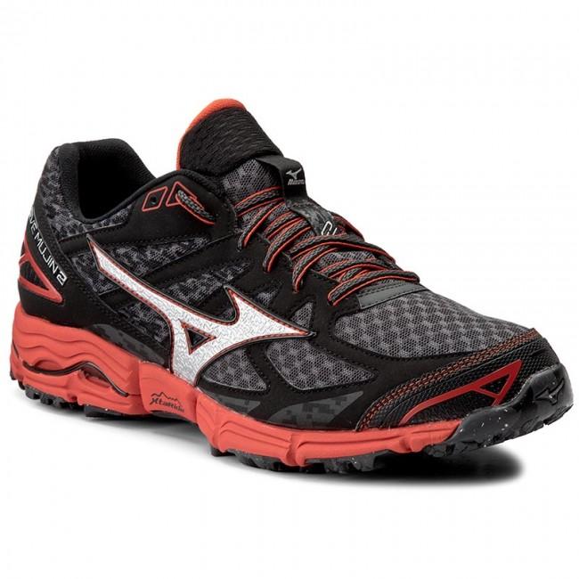 Topánky MIZUNO - Wave Mujin 2 J1GJ157009 Čierna - Trekingová obuv ... b945c284378