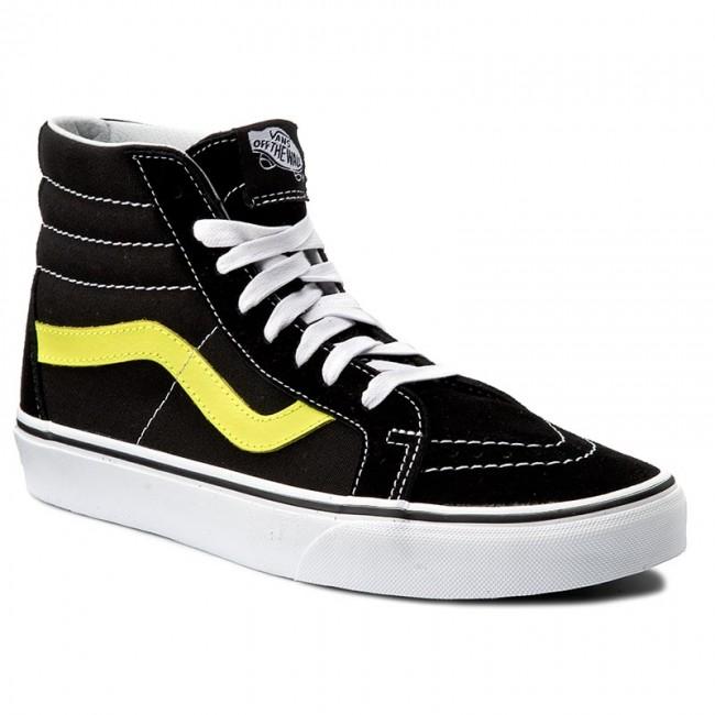 Sneakersy VANS - Sk8-Hi Reissue VN0A2XSBMVJ (Neon Leather) Black ... 2af9d4c7c74