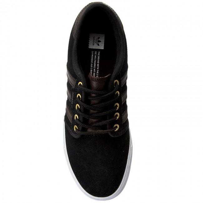 078f3ed5d6731 Topánky adidas - Seeley BB8458 Cblack/Dbrown/Ftwwht - Plátenky a tenisky -  Poltopánky - Dámske - eobuv.sk