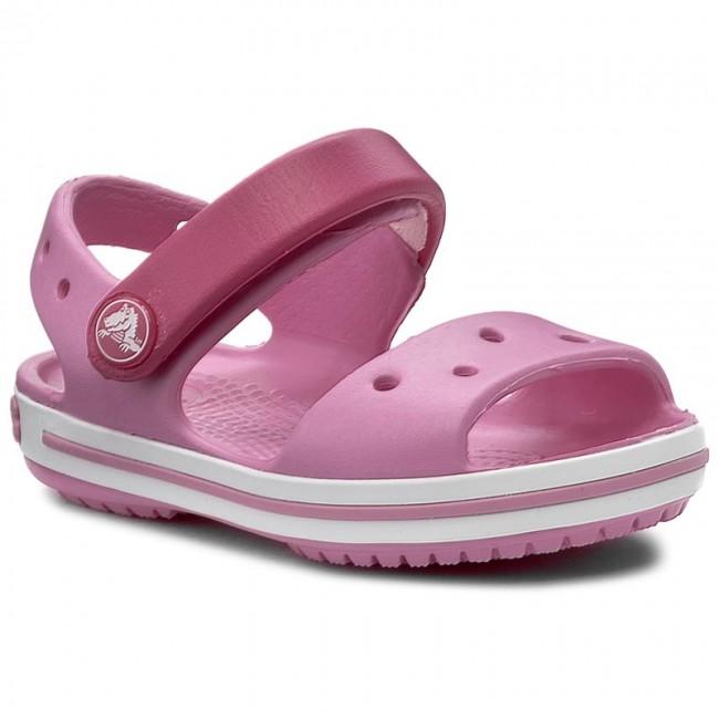 ecf397953ece Sandále CROCS - Crocband Sandal Kids 12856 Candy Pink Party Pink ...
