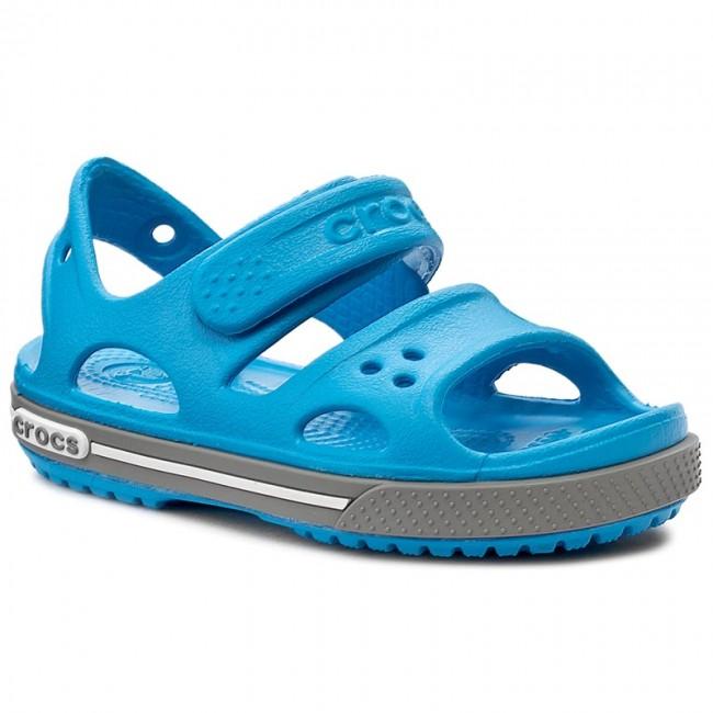 618624b32015 Sandále CROCS - Crocband II Sandal Ps 14854 Ocean Smoke - Sandály ...