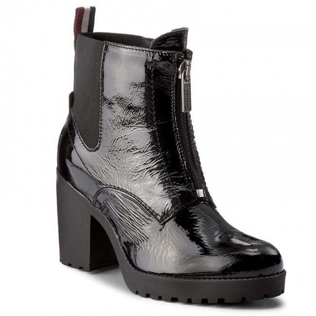 Členková obuv TOMMY HILFIGER - DENIM Boo 3A FW0FW01344 Black 990 ... e79929740c0