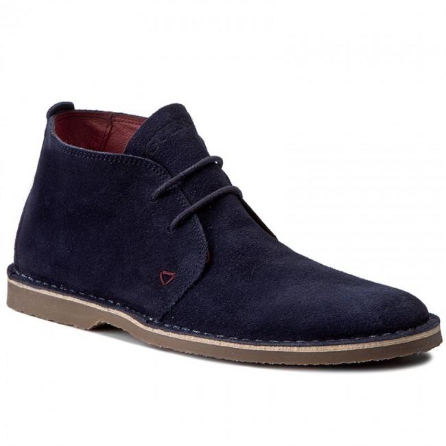 5600ad34c2ee Outdoorová obuv GUESS - Alex FMALX3 SUE09 DBLUE - Topánky - Čižmy a ...