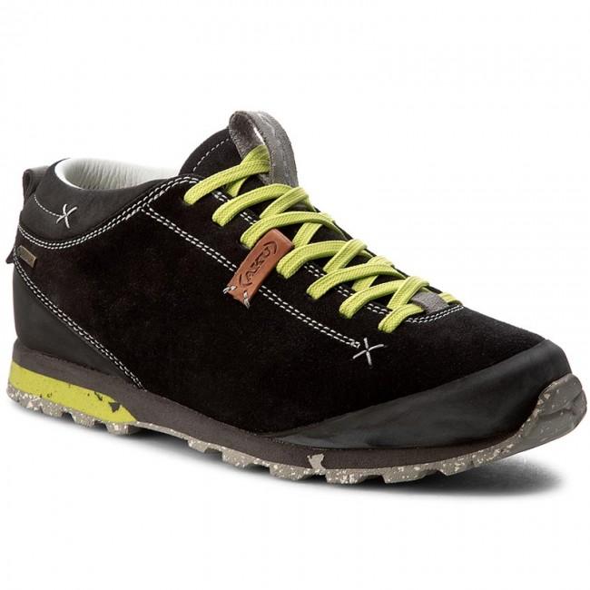 38f5bacc9c3 Trekingová obuv AKU - Bellamont Suede GT GORE-TEX 504 Black/Fluo Green 110