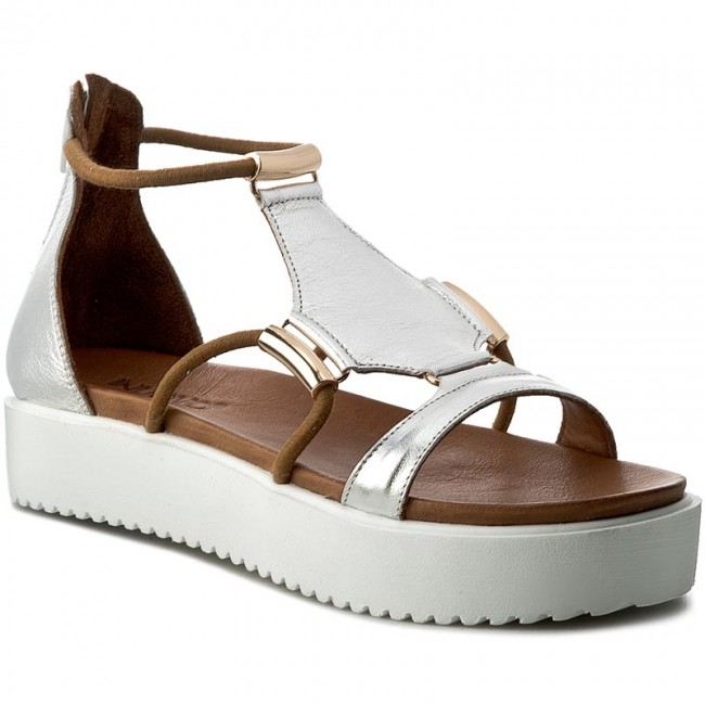 Sandále INUOVO - 7539 Silver - Sandále na každodenné nosenie ... 56e51dfb210