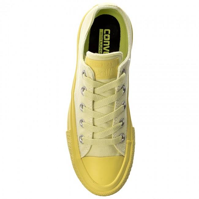 Tramky CONVERSE - Ctas II Ox 155726C Lemon Haze Fresh Yellow - Plátenky a  tenisky - Poltopánky - Dámske - www.eobuv.sk 724c6605072
