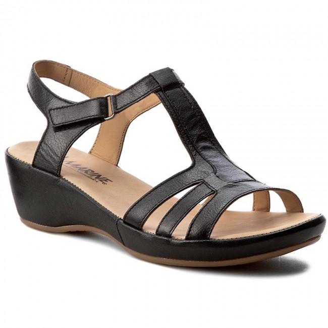 Sandále LA MARINE - Rhea Black - Sandále na každodenné nosenie ... 89bea4a1f2a