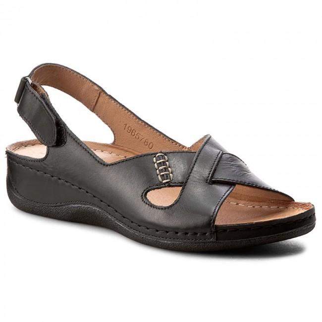 5e968ecf128a Sandále POLLONUS - 5780 Czarny Krast - Sandále na každodenné nosenie ...