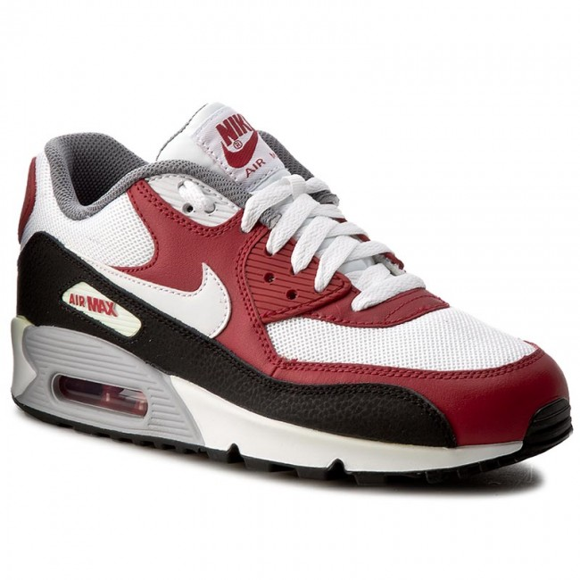 97cf1959713 Topánky NIKE - Air Max 90 Mesh (GS) 724824 102 White White Gym Red ...
