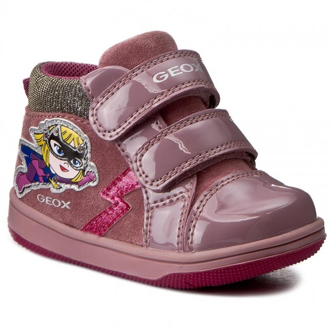 Outdoorová obuv GEOX - B New Flick G. E. B741HE 022HH C8006 Dark Pink 1de42a5ac84