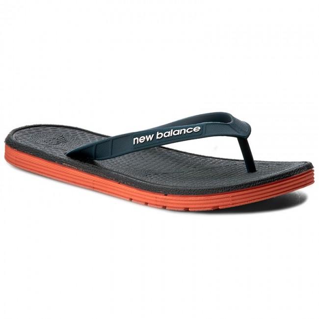 ac9187e74d4 Žabky NEW BALANCE - M6076GRO Grey Orange - Žabky - Šľapky a sandále ...