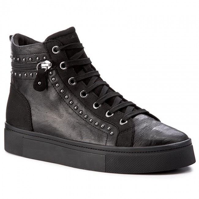 0ac26ae5098 Sneakersy GEOX - D Hidence A D7434A 0BTAF C9999 Black - Sneakersy ...