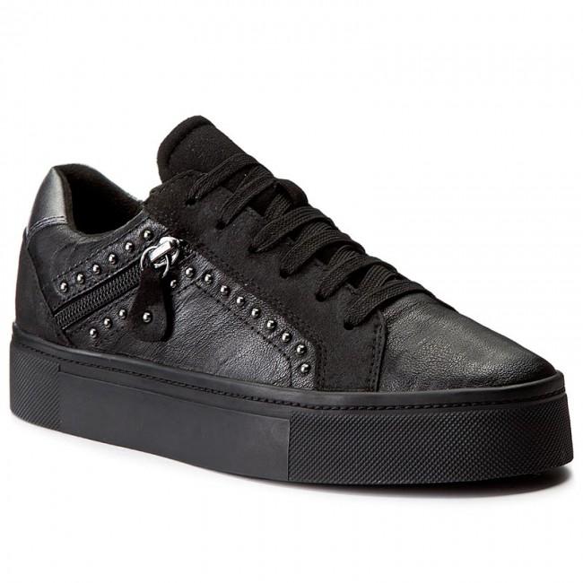 8da96ba681c Sneakersy GEOX - D Hidence B D7434B 0BTAF C9999 Black - Sneakersy ...