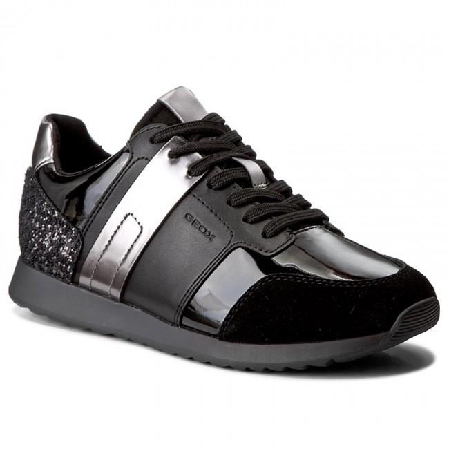 Sneakersy GEOX - D Deynna D D746FD 00222 C9999 Black - Sneakersy ... 33742b1240
