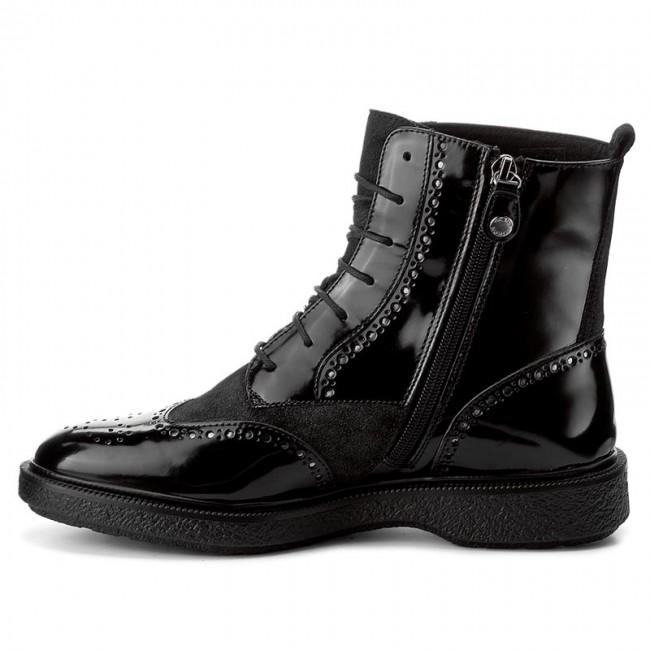 67b4496fe5e Členková obuv GEOX - D Prestyn A D745WA 038PV C9999 Black - Kotníková obuv  - Čižmy a iné - Dámske - www.eobuv.sk