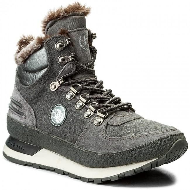 Členková obuv BUGATTI - 421-28551-1469-1115 Dark Grey Grey ... f36b03d091d