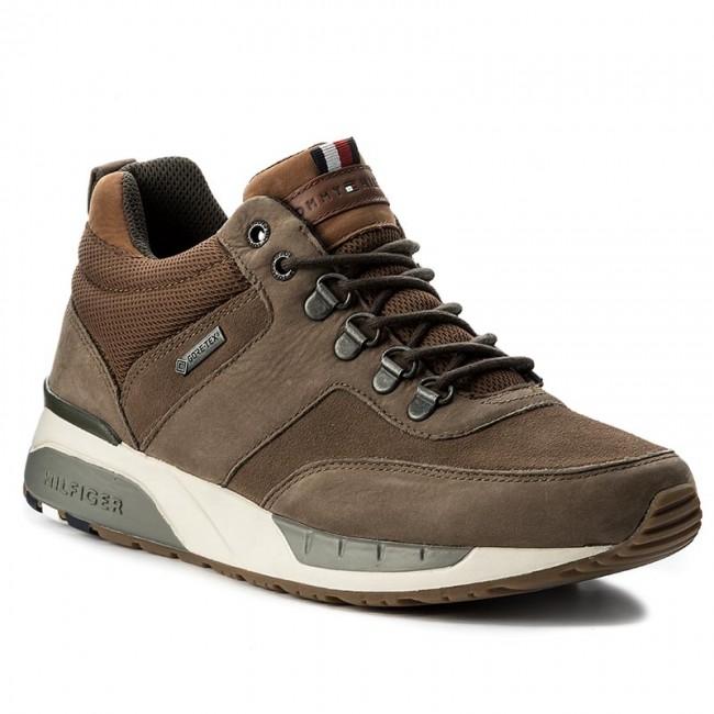 86dabcf56b71 Sneakersy TOMMY HILFIGER - Rush 2C Gtx GORE-TEX FM0FM00921 Shitake ...