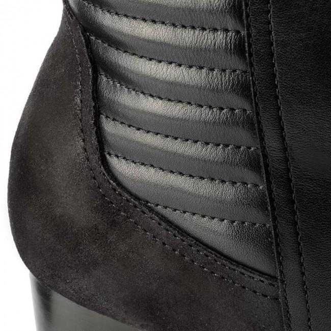 Členková obuv CAPRICE - 9-25424-29 Black Comb 019 - Kotníková obuv ... a14ff391938