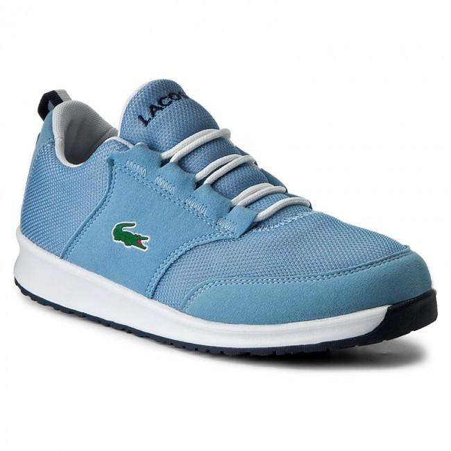Sneakersy LACOSTE - L ight 217 1 Spj 7-33SPJ1005LB2 Lt Blu Lt Blu ... b9a34a85871
