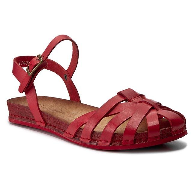 993ecc750c Sandále MACIEJKA - 03074-08 00-0 Červená - Sandále na každodenné ...