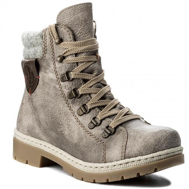 d1f04ab6ec1b Outdoorová obuv RIEKER - Y9430-43 Grey - Outdoorové topánky - Čižmy ...