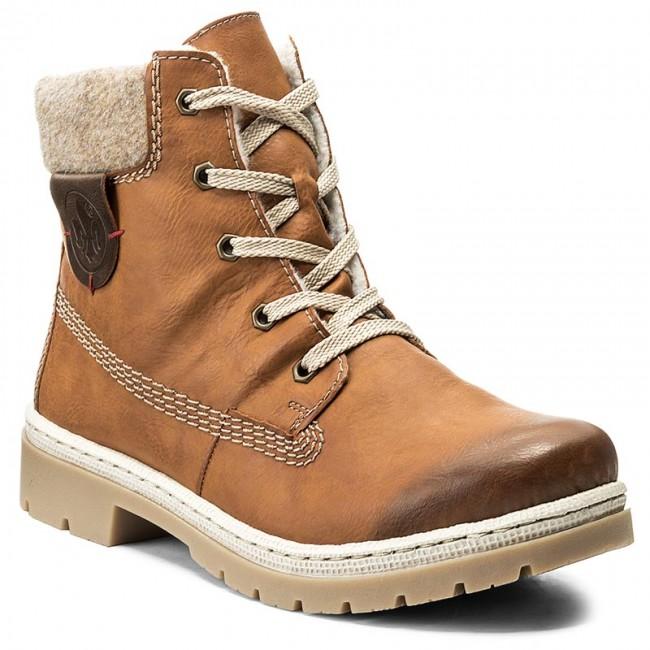 Outdoorová obuv RIEKER - Y9420-24 Braun Kombi - Outdoorové topánky ... a63b4a29b26