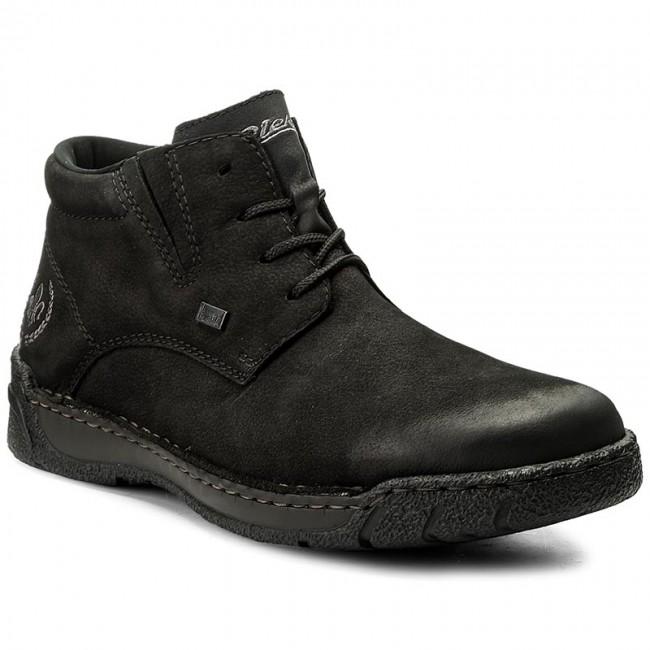 588e0b292c88 Outdoorová obuv RIEKER - B0331-00 Black - Topánky - Čižmy a iné ...