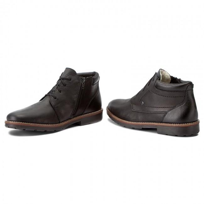 Outdoorová obuv RIEKER - 35332-00 Schwarz - Topánky - Čižmy a iné ... 78f019ef22b