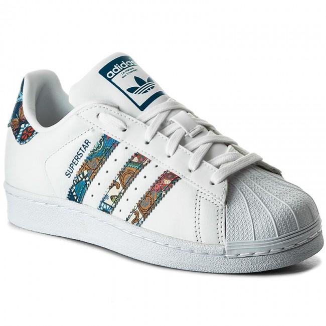 Topánky adidas - Superstar W BY9177 Ftwwht Ftwwht Nobtea - Sneakersy ... f5bdfdb72eb