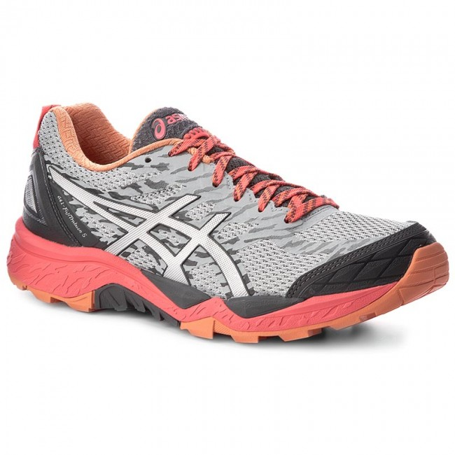 Topánky ASICS - Gel-FujiTrabuco 5 T6J5N Midgrey Silver Diva Pink 9693 0e273a77fd