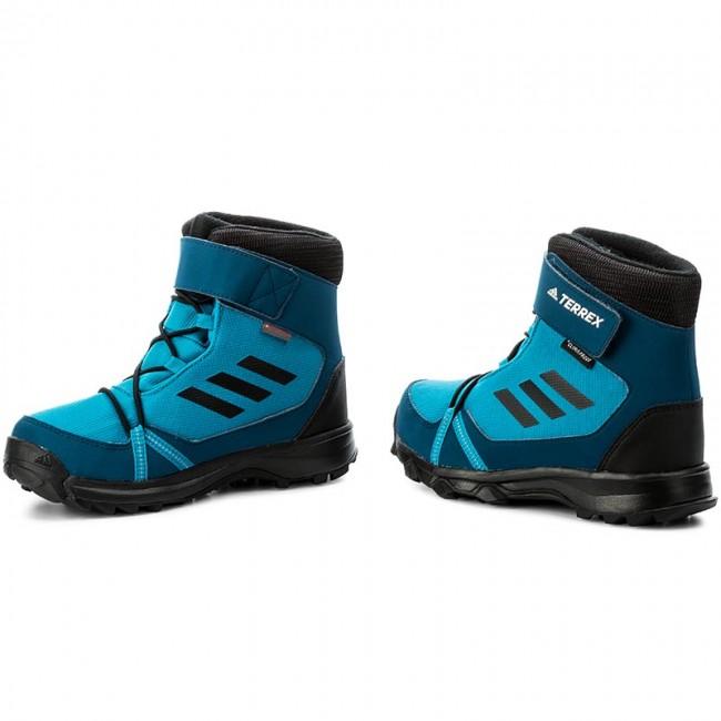 Snehule adidas - Terrex Snow Cf Cp Cw K S80884 Myspet Cblack Blunit ... 59b39721da