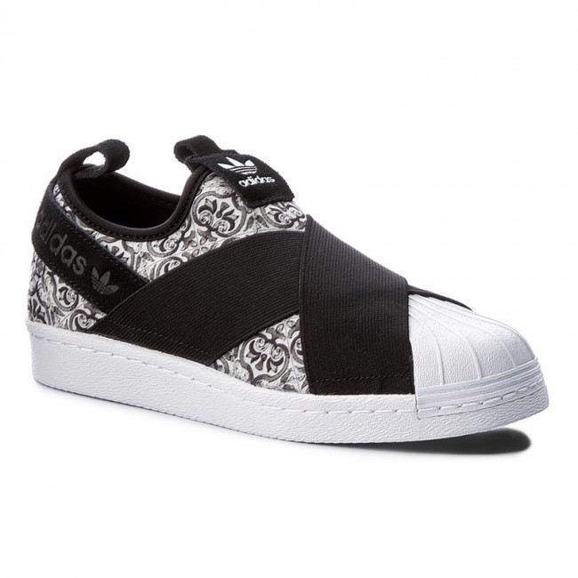 Topánky adidas - Superstar Slip On W BY9141 Cblack Cblack Ftwwht ... b91cf28d499