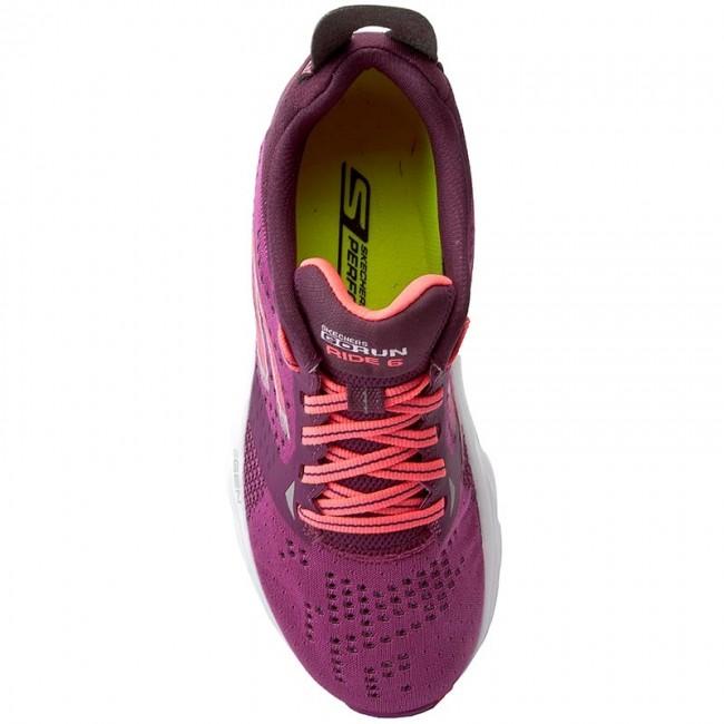 aaa07728364 Topánky SKECHERS - Go Run Ride 6 14117 PRHP Purple Hot Pink - Fitness -  Športové - Dámske - www.eobuv.sk