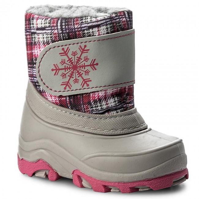 Snehule MANITU - 120132 Grey 9 - Outdoorová obuv - Čižmy a iné ... 658bdc7e81