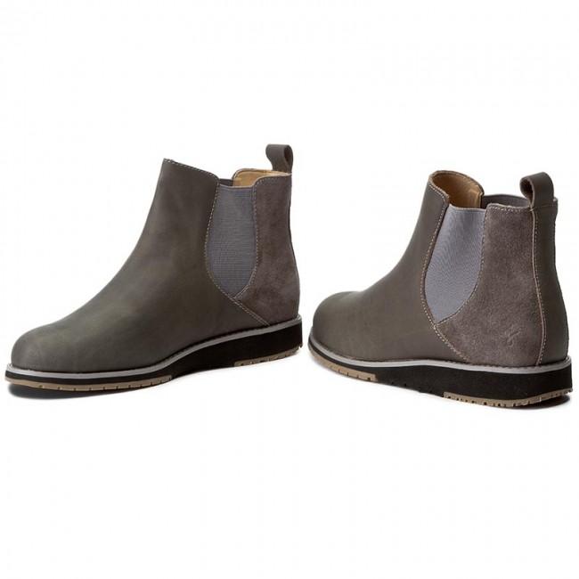 Kotníková obuv s elastickým prvkom EMU AUSTRALIA - Taria Leather W11501  Charcoal Anthracite 62e50798b45