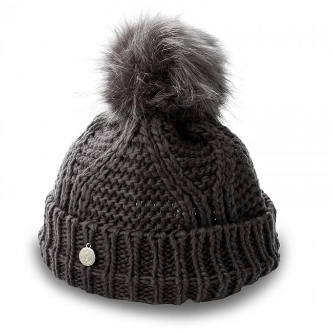 54d4d6c8b Čiapka dámska TOMMY HILFIGER - Fur Pompon Beanie AW0AW04374 002